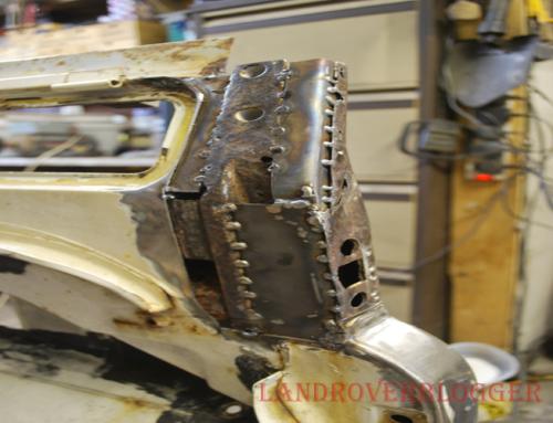 Land Rover 6×6 Bulkhead Repairs
