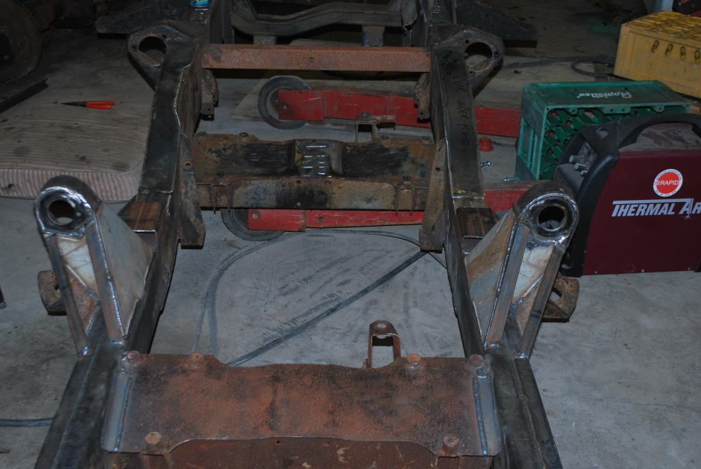 Land Rover Defender 6 215 6 170 Galvanized Chassis Land