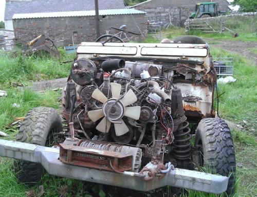 Land Rover Bulkhead Common Rust Areas