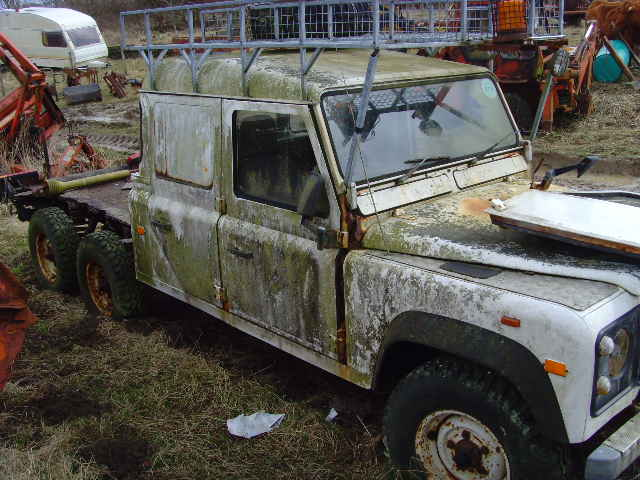 Land Rover Wreck Of The Month Land Rover Blogger