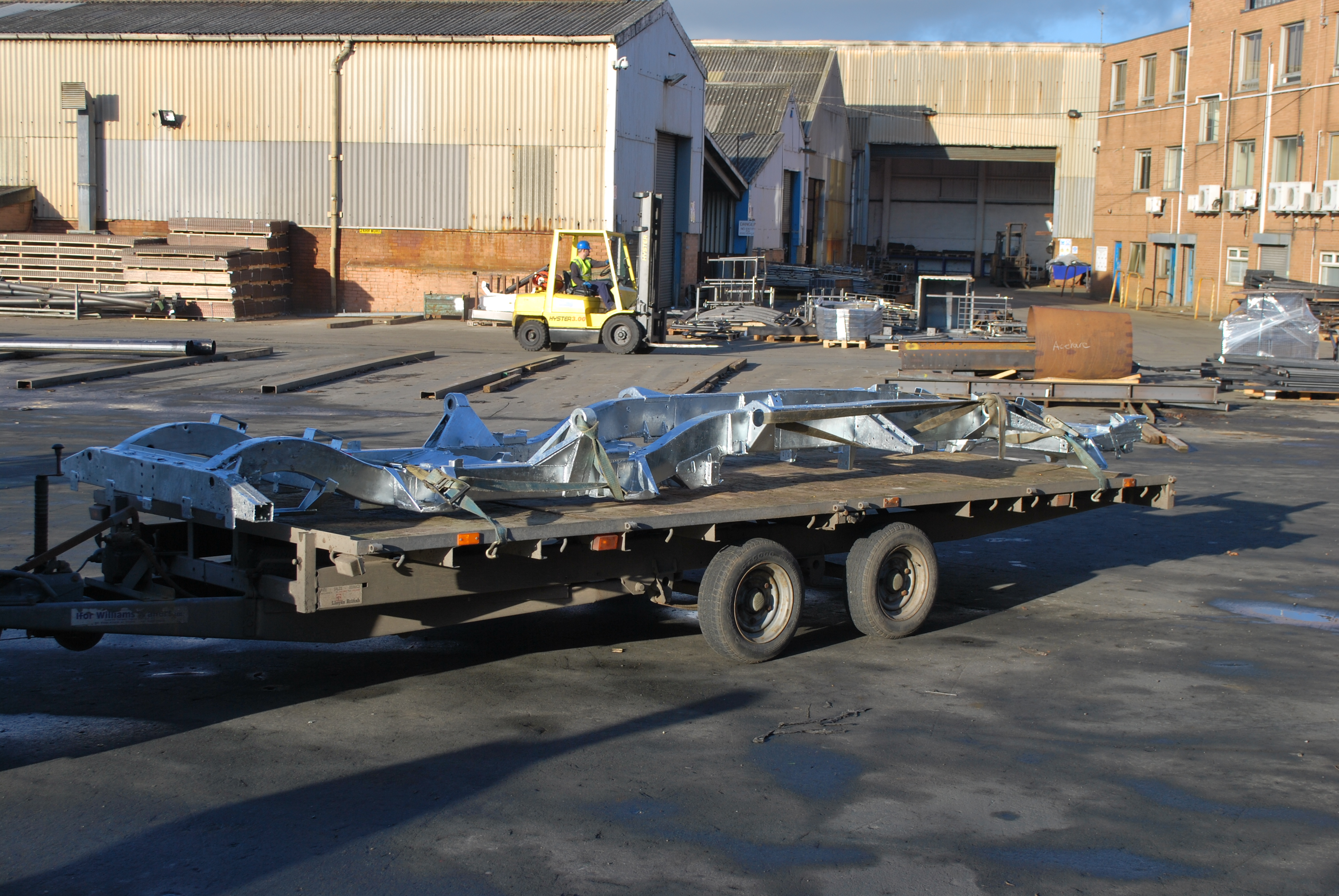 Land Rover Defender 6 6 170 Galvanized Chassis Land Rover Blogger
